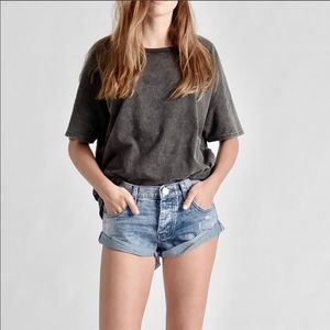 One X Teaspoon Medium Wash DENIM Shorts Size 24